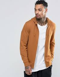 asos zip up hoodie in tan where to buy u0026 how to wear