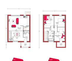 plan de maison a etage 5 chambres plan maison 1 etage 3 chambres 2 304893 253 lzzy co plansmodernes