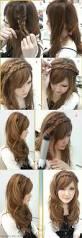 medium length hairstyles with braids diy hairstyles for medium length hair step by step women medium