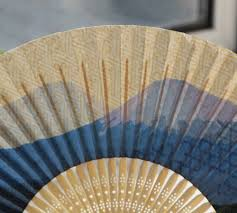 bamboo fan christmas wedding gifts japanese style event u0026 party