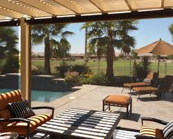 Backyard Shade Solutions by Fortress Outdoor Solar Shades For High Winds North Solar Screen