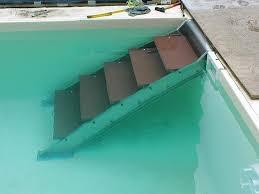 pool treppe gartenbahn edelstahlsonderanfertigungen dresden wasserspiele