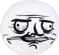 Meme Emoticon Face - moodrush me gusta shop rage faces cushion meme throw pillow