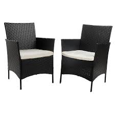 Patio Furniture Vernon Bc by Amazon Com Merax 4 Piece Outdoor Pe Rattan Wicker Sofa And Chairs
