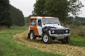 land rover racing land rover defender one make rally series launched