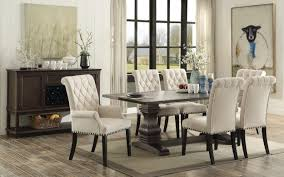 espresso rectangular dining table parkins rustic espresso 8 piece rectangular dining table set tc