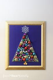 the ornament tree an easy craft