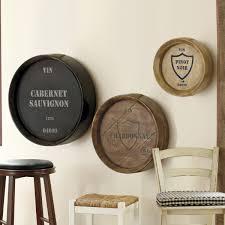 wine barrel chardonnay plaque decor pinterest barrels and room
