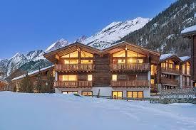 Swiss Alps Chalet Home Design