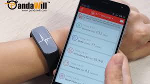 mifone 37 degree ip54 bracelet blood pressure rate mood