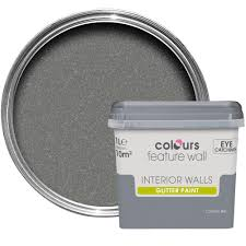 colours feature wall cosmic sky glitter effect emulsion paint 1l