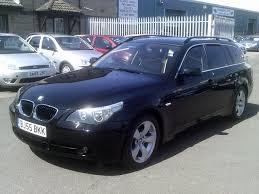 used bmw 5 series estate for sale used bmw 5 series 2005 diesel 520d se 5dr estate black edition for