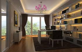 futuristic home office interior design design 1200x766