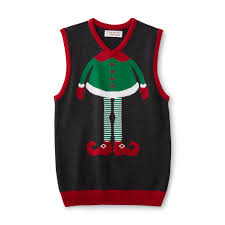 men u0027s ugly christmas sweater vest