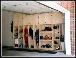creating diy space saving garage cabinet plans home design ideas