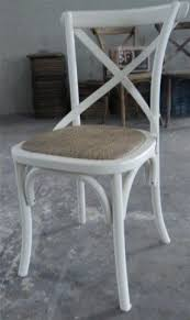 X Back Bistro Chair Cross Back Dining Chair Foter