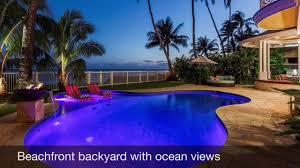 Hawaii Vacation Homes by Kalani Villa Rental Oceanfront Vacation Rental Oahu Hawaiian