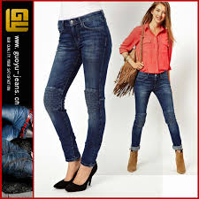 alibaba jeans high waisted skinny jeans with quilted knee women jeans urban star