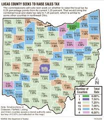 Map Of Northwest Ohio by Lucas County May Increase Rate To 7 25 The Blade