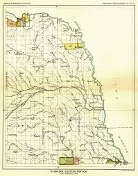 Map Eastern United States by Indian Land Cessions In The U S Nebraska Eastern Portion Map