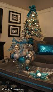 Frosty Blue Christmas Decorations by Best 25 Teal Christmas Tree Ideas On Pinterest Teal Christmas
