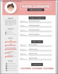 graphic design resume template vector free download sample