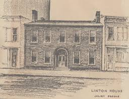 juliet peddle u0027s sketch of the william linton house from the vcpl