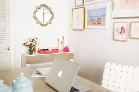 chic office desk decor work it chic and functional office décor lauren conrad