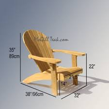 Outdoor Chairs Design Ideas Best 25 Teak Adirondack Chairs Ideas On Pinterest Adirondack