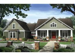one level house plans with porch design of craftsman style house plans one story homes interiors