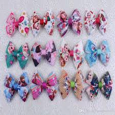 3 grosgrain ribbon hot handmade frozen 3 grosgrain ribbon hair bows baby girl purple