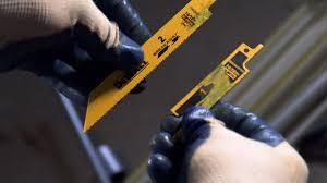 Dewalt Wet Tile Saw Manual by Breakaway Reciprocating Saw Blades Two Blades In One Dewalt