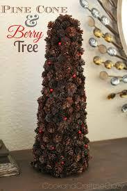 cook and craft me crazy pine cone u0026 berry tree christmas round up
