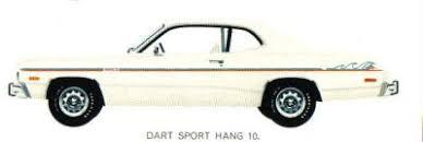 1974 dodge dart hang ten 1975 dodge dart