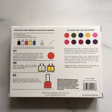 create your own nail polish set 2pc by palette london
