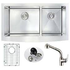 ANZZI Kitchen Sinks Kitchen The Home Depot - Kitchen sink with faucet set