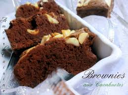 amour de cuisine chez soulef brownies aux cacahuetes amour de cuisine