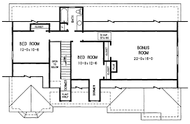 Floor Plan For 3 Bedroom 2 Bath House by The Davis 3683 3 Bedrooms And 2 Baths The House Designers