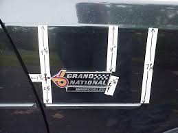 1982 Buick Grand National For Sale Buick Grand National Emblem Mounting Position