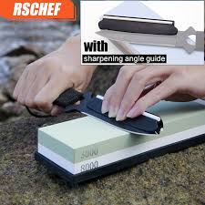 sharpening angle for kitchen knives 3000 8000 knife water stone grit whetstone professional kitchen