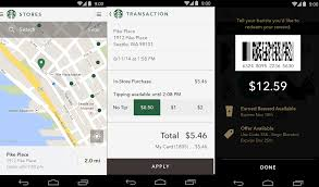 starbucks app android starbucks app for android gets digital tipping shake to pay