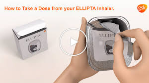 how to use your breo ellipta inhaler breo ellipta fluticasone