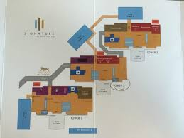 mgm floor plan map of signature picture of signature at mgm grand las vegas