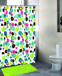 bright green shower curtain items similar to shower curtain lime green
