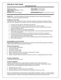 Resume Samples Bank Teller No Experience by Bank Teller Job Description Resume Free Resume Example And
