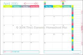printable 2017 calendar two months per page free homeschool academic year calendar