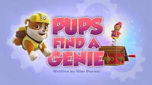 pups genie paw patrol wiki fandom powered wikia