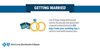 things to plan for a wedding qualifying event married blue cross and blue shield of illinois
