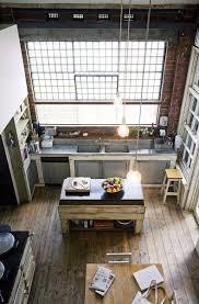 cuisine dans loft cuisine dans un loft vintage industrial lofts