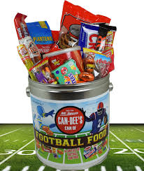 candy gift basket football fan candy gift blaircandy